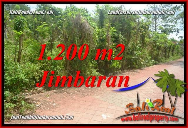 Beautiful PROPERTY JIMBARAN BALI 1,200 m2 LAND FOR SALE TJJI128A