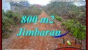 Magnificent 800 m2 LAND FOR SALE IN JIMBARAN UNGASAN BALI TJJI129