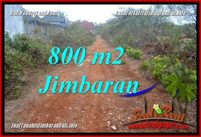 Magnificent PROPERTY 800 m2 LAND FOR SALE IN JIMBARAN BALI TJJI129