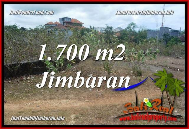 FOR SALE 1,700 m2 LAND IN JIMBARAN BALI TJJI130