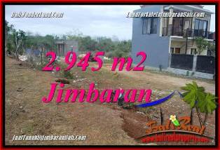 Exotic PROPERTY 2,945 m2 LAND FOR SALE IN JIMBARAN UNGASAN BALI TJJI132