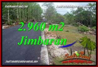 Magnificent PROPERTY JIMBARAN BALI 2,960 m2 LAND FOR SALE TJJI133A