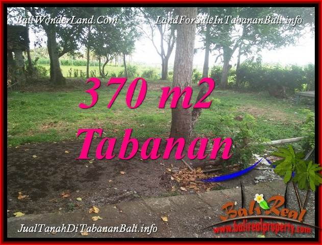 FOR SALE Affordable 370 m2 LAND IN TABANAN TJTB383