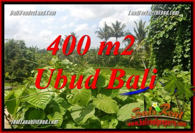 Magnificent Sentral Ubud 400 m2 Land for sale TJUB684