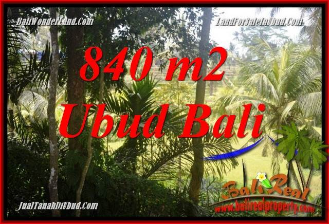 Exotic Property Land in Ubud Bali for sale TJUB685