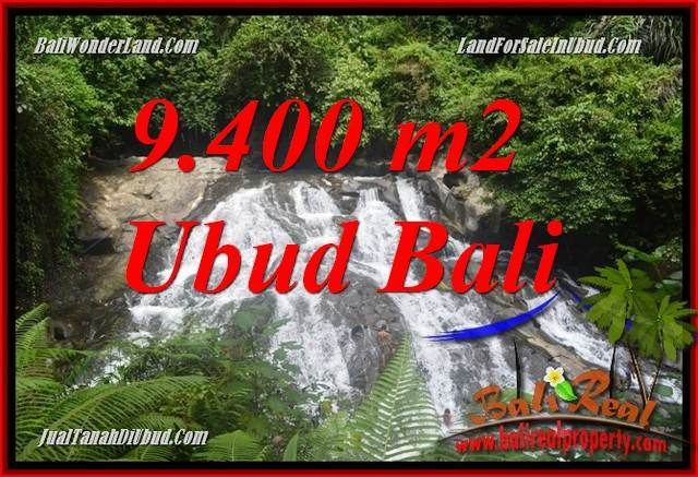 FOR sale Exotic Property 9,400 m2 Land in Ubud Gianyar Bali TJUB686