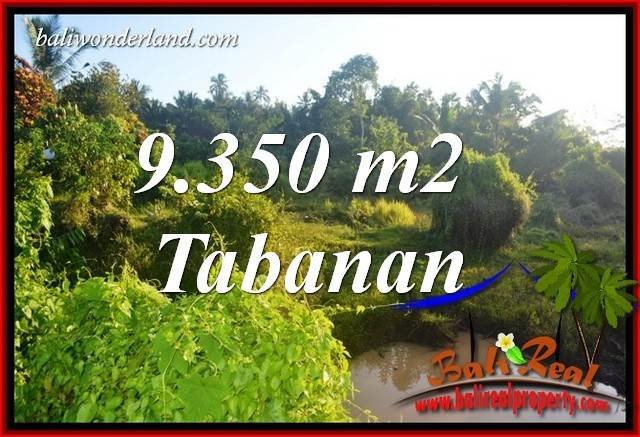 Exotic Property 9,350 m2 Land sale in Tabanan Selemadeg TJTB409