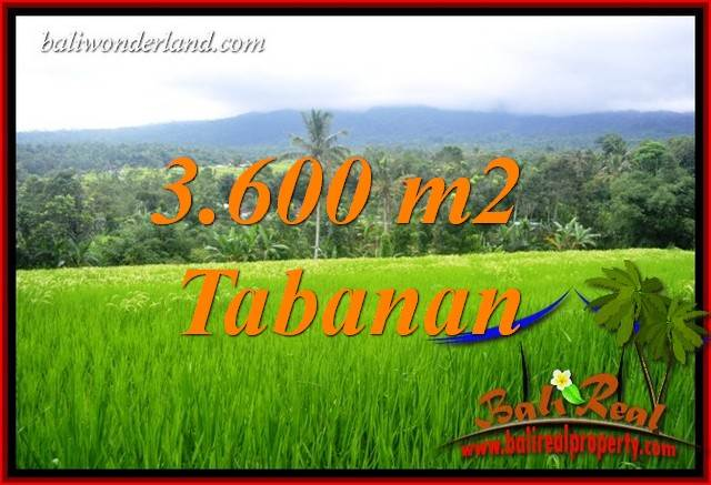 Exotic 3,600 m2 Land for sale in Tabanan Penebel TJTB415