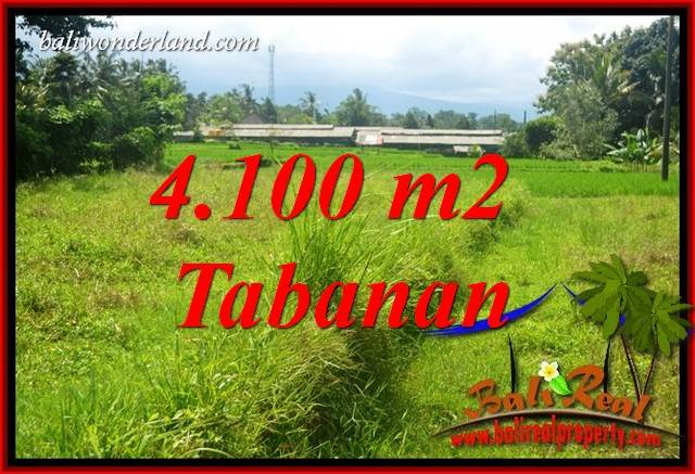 Beautiful Land sale in Tabanan Bali TJTB417