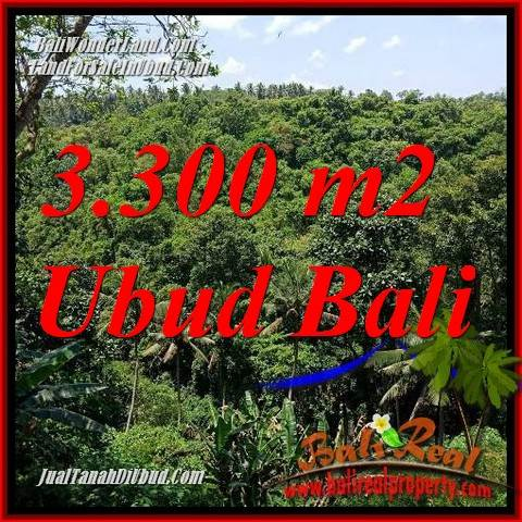 Magnificent Sentral Ubud 3,300 m2 Land for sale TJUB692