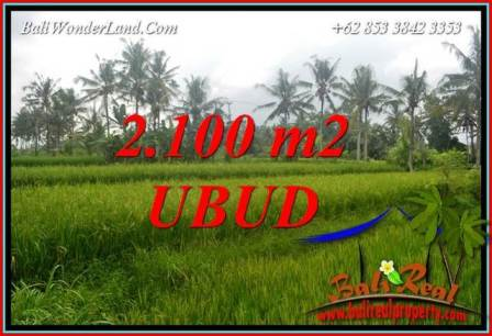 Exotic Property Ubud Pejeng Bali 2,100 m2 Land for sale TJUB710