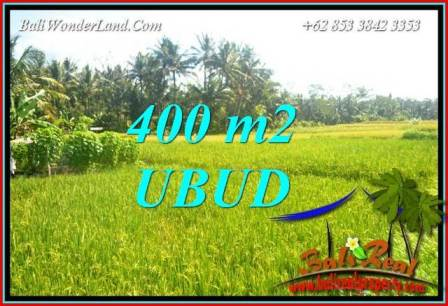 400 m2 Land in Ubud Bali for sale TJUB711