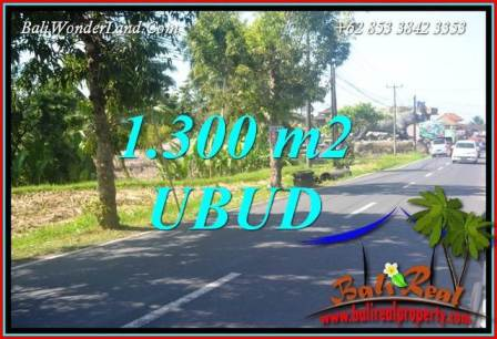 Affordable Property 1,300 m2 Land sale in Ubud Tegalalang Bali TJUB713