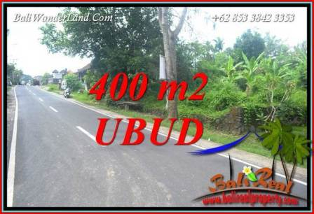 Magnificent Sentral Ubud Bali 400 m2 Land for sale TJUB725