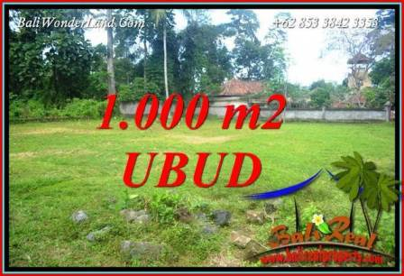 Affordable Land sale in Ubud Pejeng Bali TJUB728