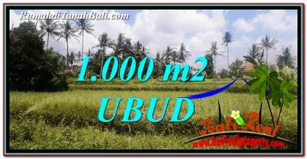 Exotic LAND FOR SALE IN UBUD TJUB754