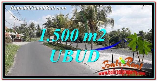 Magnificent PROPERTY UBUD BALI LAND FOR SALE TJUB758