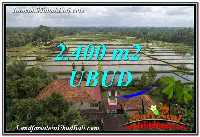 Exotic UBUD BALI 2,400 m2 LAND FOR SALE TJUB761