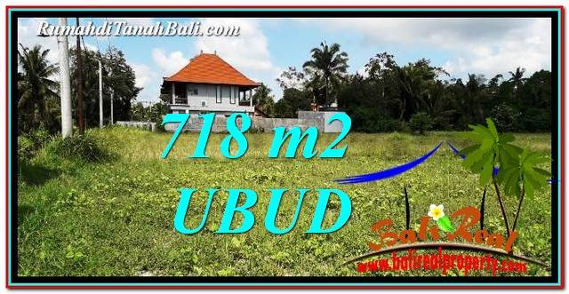 Exotic PROPERTY LAND IN UBUD BALI FOR SALE TJUB767