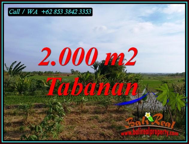 Affordable TABANAN BALI LAND FOR SALE TJTB492