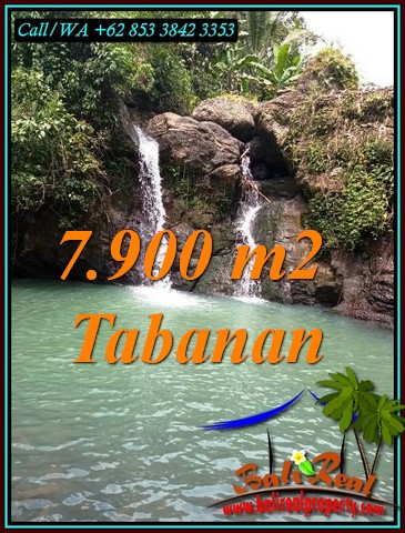 Magnificent 7,900 m2 LAND FOR SALE IN TABANAN TJTB479